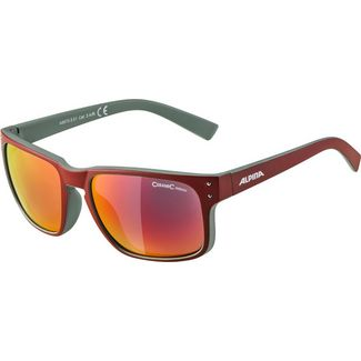 ALPINA Kosmic Sonnenbrille red matt-green