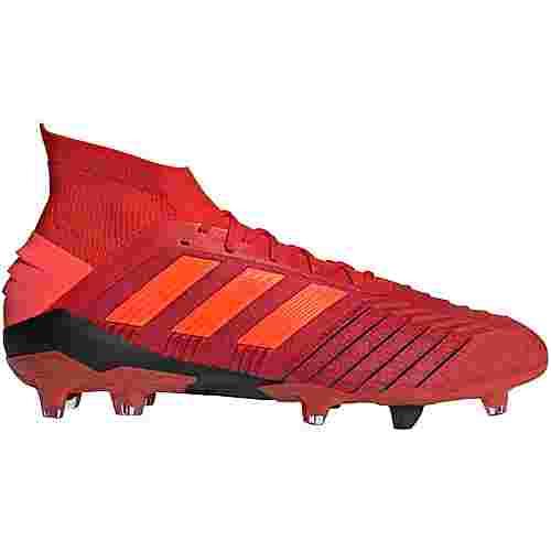 adidas PREDATOR 19.1 FG Fußballschuhe active red