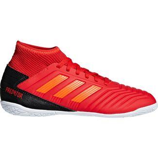 adidas PREDATOR 19.3 IN J Fußballschuhe Kinder active red