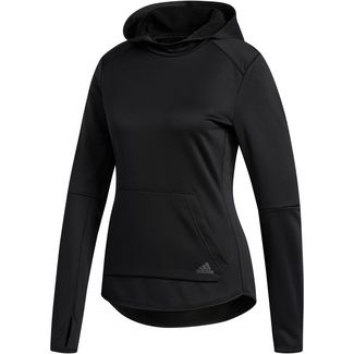 adidas Own The RUN Laufhoodie Damen black