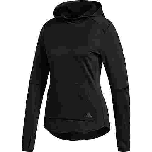 adidas Own The RUN Laufhoodie Damen black