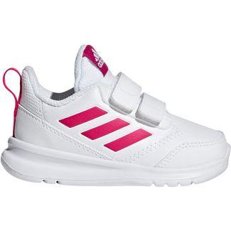 adidas AltaRun Laufschuhe Kinder white pink
