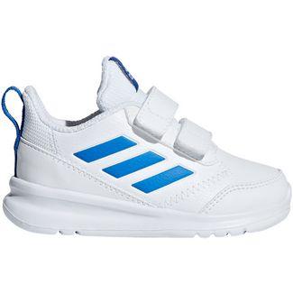 adidas AltaRun Laufschuhe Kinder white blue