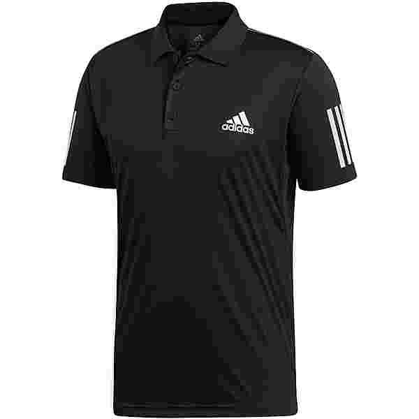adidas CLUB 3STR Poloshirt Herren black