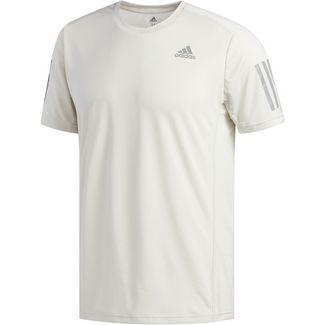 adidas OWN THE RUN Laufshirt Herren raw white
