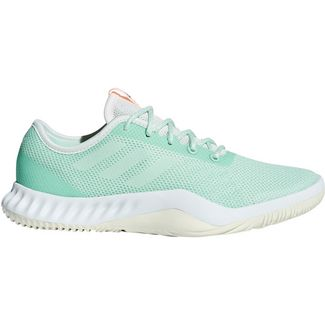 adidas Crazy Train Fitnessschuhe Damen clear mint-cloud white-clear orange