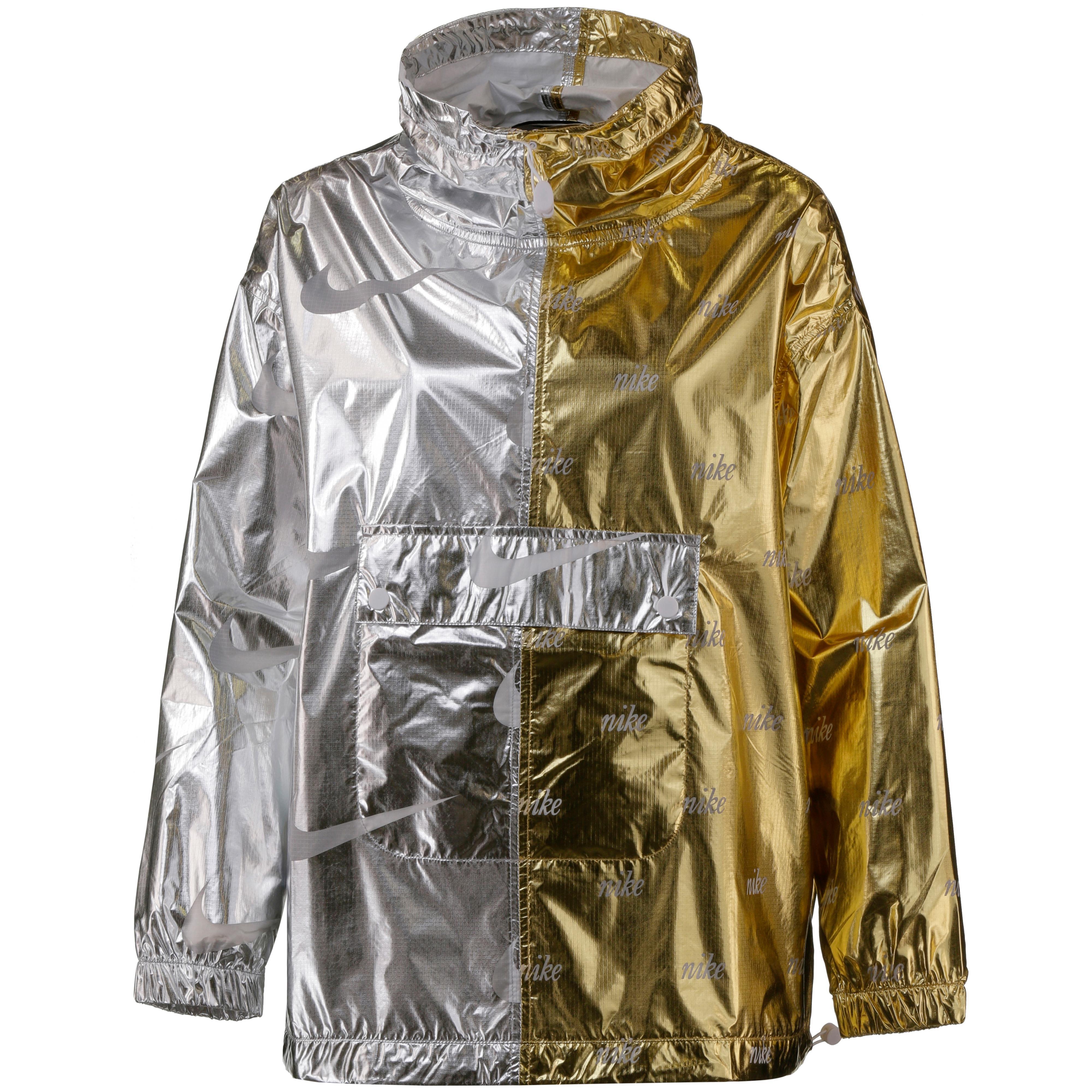 Nike Windbreaker Damen gold silver im Online Shop von SportScheck kaufen