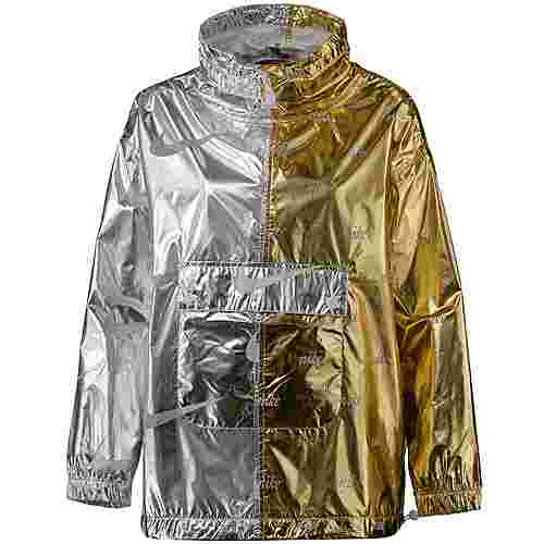 Nike Windbreaker Damen gold-silver