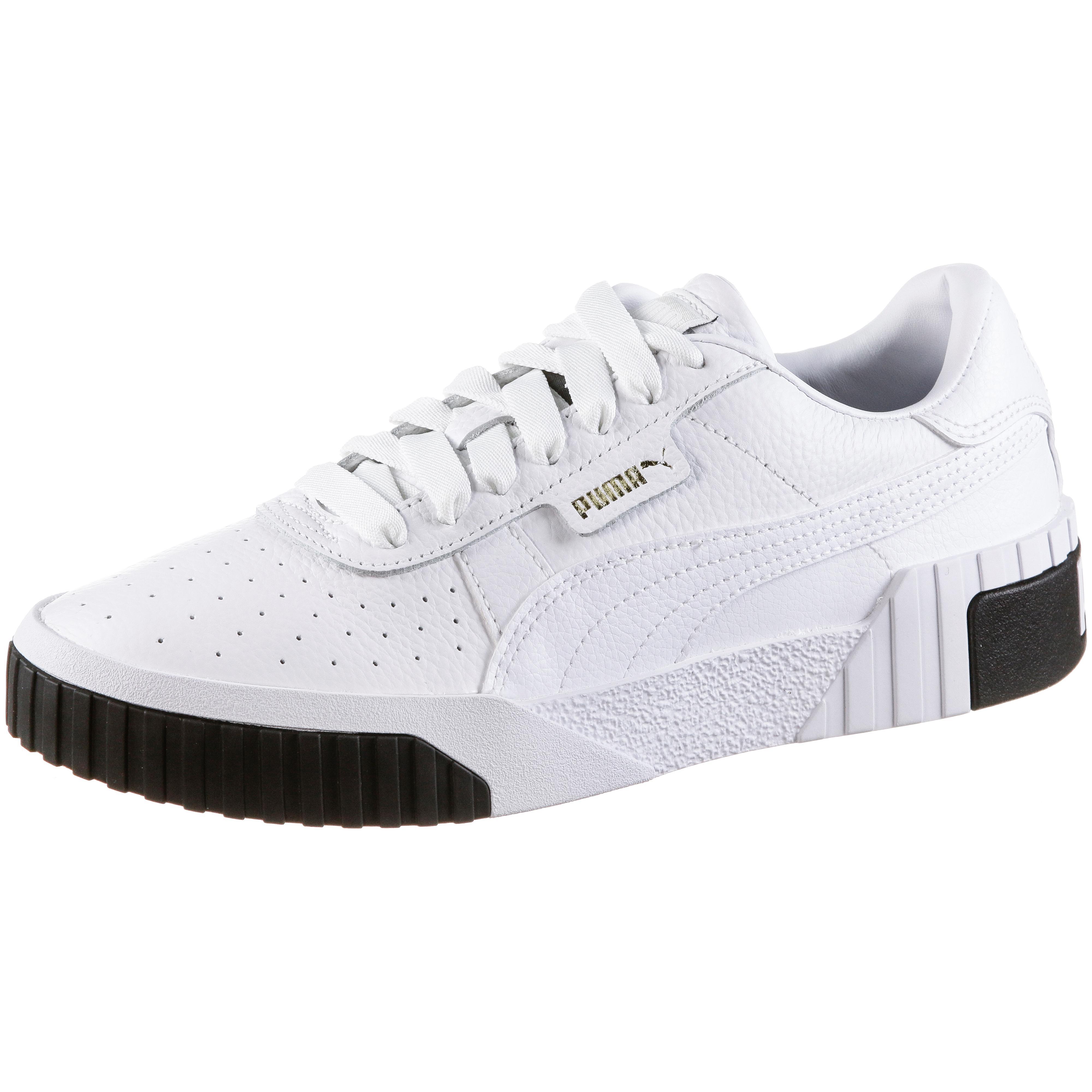 PUMA Cali Sneaker Damen puma white puma black im Online Shop von SportScheck kaufen