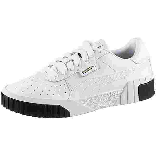 PUMA Cali Sneaker Damen puma white-puma black