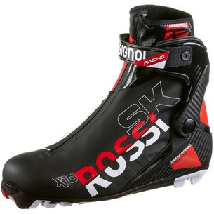 Rossignol X-10 Skate Langlaufschuhe schwarz-rot