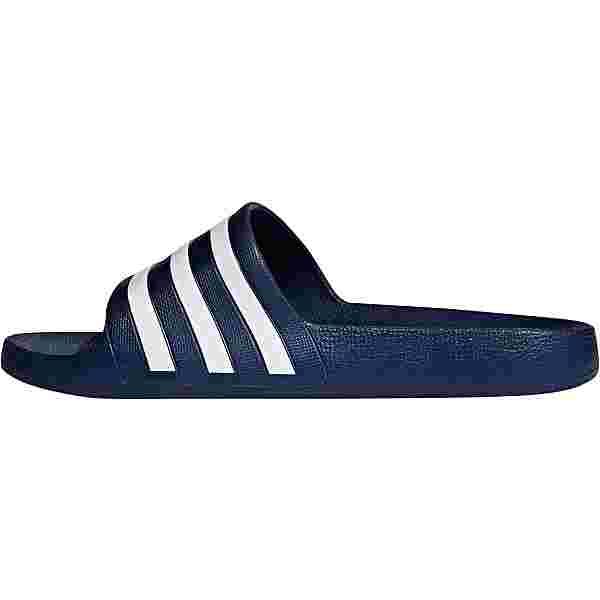 adidas Adilette Aqua Badelatschen dark blue