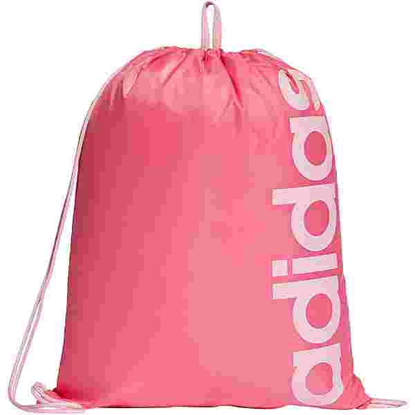 adidas Linear Turnbeutel Kinder semi solar pink