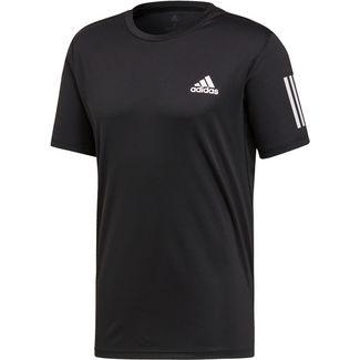 adidas CLUB 3STR Tennisshirt Herren black