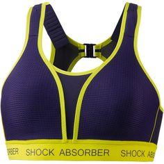 Shock Absorber Ultimate Run Sport-BH Damen dunkelblau
