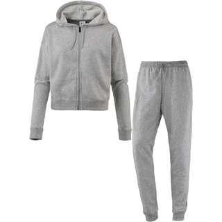 Reebok Elements Trainingsanzug Damen medium grey heather