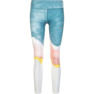 Nike Epic Lux Tights Damen weiß / blau