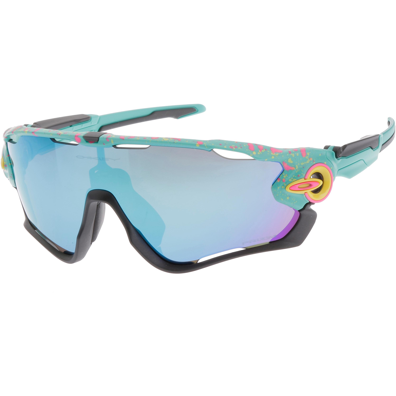 Oakley Jawbreaker Splatter Prizm Sapphire Sportbrille