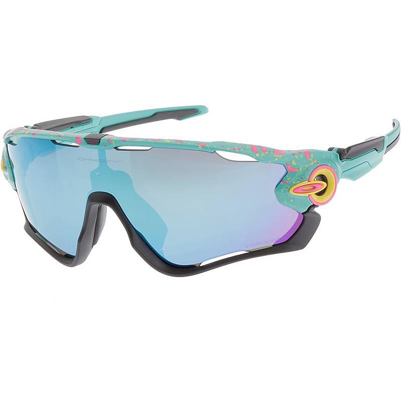 0dd1b03f2ec Oakley Jawbreaker Splatter Prizm Sapphire Sportbrille celeste im ...