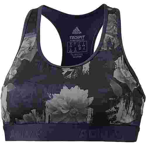 adidas Alphaskin Sport-BH Damen legend ink-print