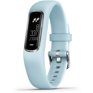 Garmin vivivosmart 4 Fitness Tracker hellblau-silber