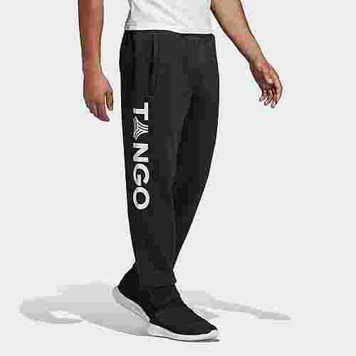 adidas TAN Graphic Jogginghose Trainingshose Herren Schwarz