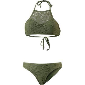 Maui Wowie Bikini Set Damen olive