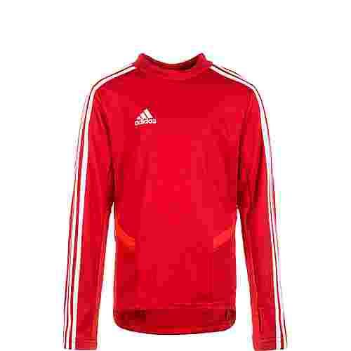 adidas Tiro 19 Funktionsshirt rot / weiß