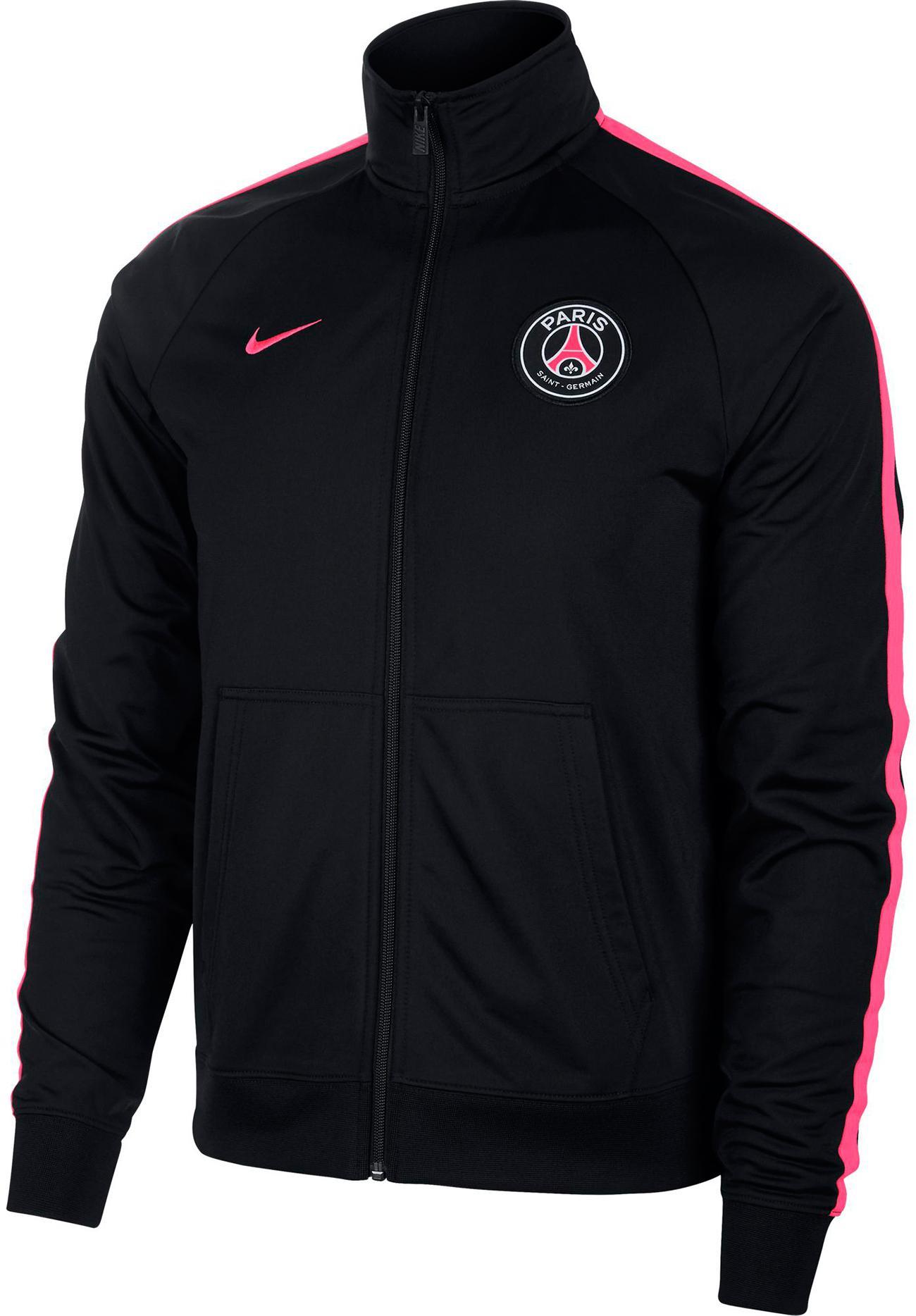 jacken f�r herren von nike im online shop von sportscheck kaufen  nike paris saint germain trainingsjacke herren black hyper pink hyper pink