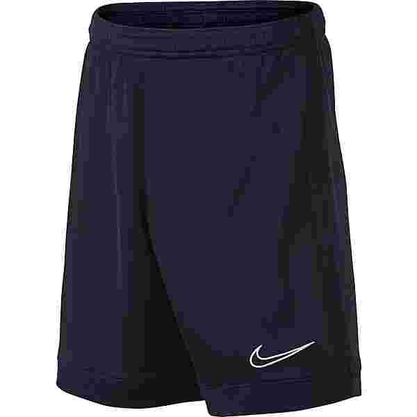 Nike Academy Fußballshorts Kinder obsidian-obsidian-white