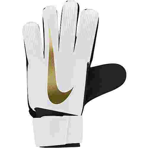 Nike NK GK MATCH-FA18 Torwarthandschuhe white-black-mtlc vivid gold