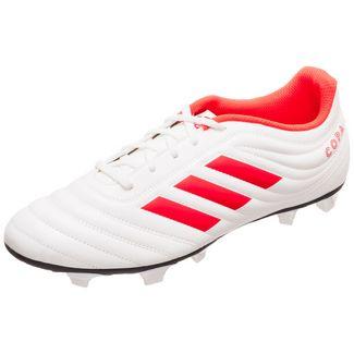 adidas Copa 19.4 Fußballschuhe Herren weiß / neonrot