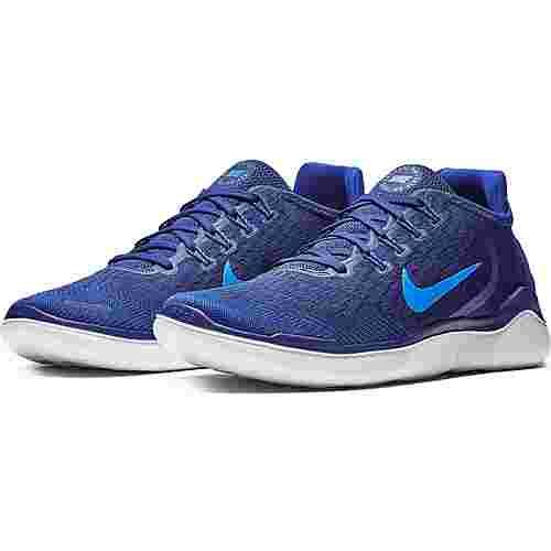 Nike FREE RN 2018 Laufschuhe Herren blue void-photo blue-indigo force-red orbit