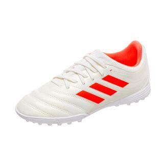adidas Copa 19.3 Fußballschuhe Kinder weiß / neonrot