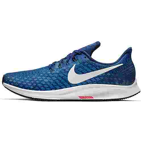 Nike AIR ZOOM PEGASUS 35 Laufschuhe Herren indigo force-white-photo blue-blue void-red orbit