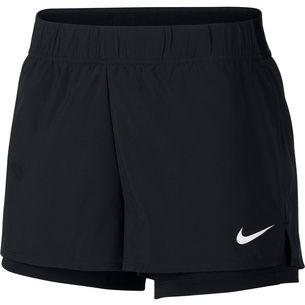 4681aa4e3f75 Nike W NKCT FLEX SHORT Funktionsshorts Damen black-white
