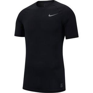 Nike Pro Breathe Funktionsshirt Herren black-black-anthracite-dark grey