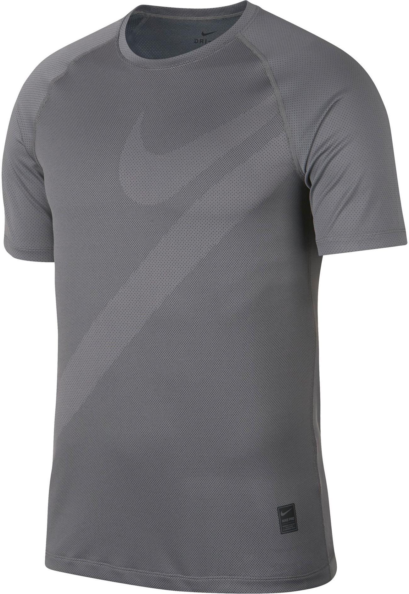 shirts f�r herren von nike im online shop von sportscheck kaufen  nike pro hbr 2 funktionsshirt herren gunsmoke black gunsmoke