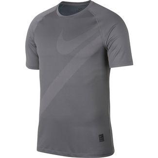 Nike Pro HBR 2 Funktionsshirt Herren gunsmoke-black-gunsmoke