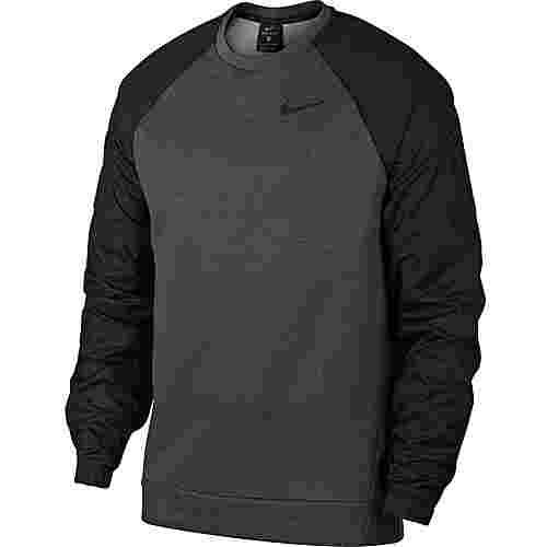 Nike Utility Core Funktionsshirt Herren charcoal heathr-black-black