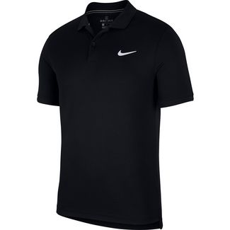 Nike M NKCT DRY POLO TEAM Tennis Polo Herren black-black-white