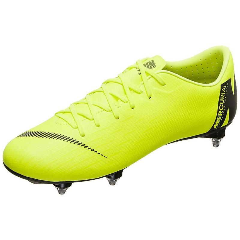 sports shoes 788f2 7acaf Nike Mercurial Vapor XII Academy Fußballschuhe Herren neongelb  schwarz