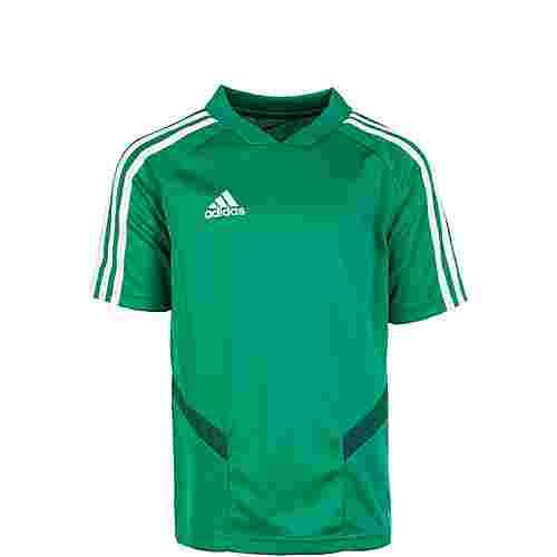 adidas Tiro 19 Funktionsshirt Kinder grün / weiß