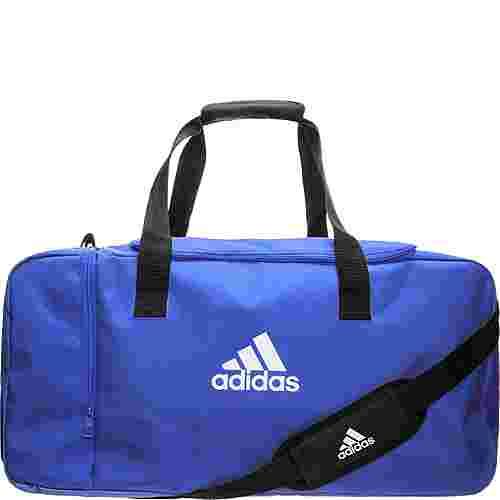 adidas Tiro Duffel Small Sporttasche blau / weiß
