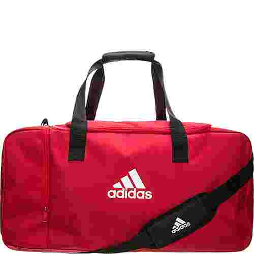 adidas Tiro Duffel Sporttasche rot / weiß