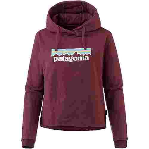 Patagonia Pastel P-6 Logo Hoodie Damen rocky red