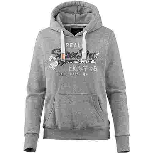 Superdry Hoodie Damen grey heathered