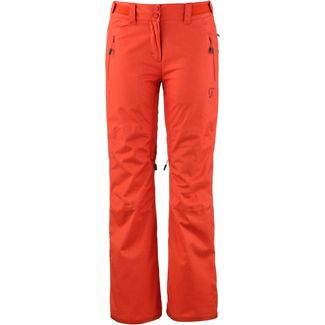 SCOTT Ultimate Dryo 10 Skihose Damen moroccan red heather