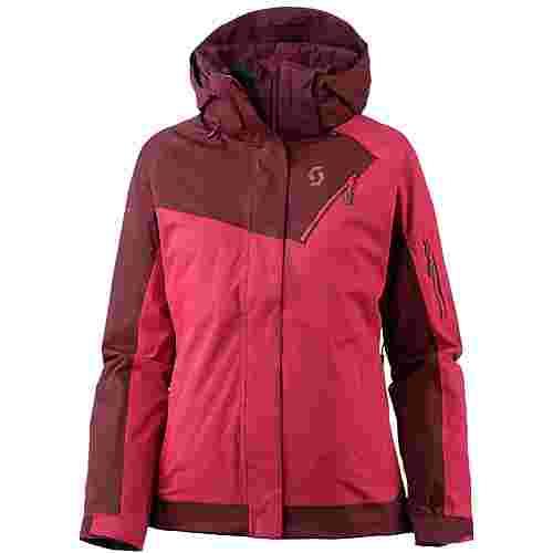SCOTT Ultimate Dryo 20 Skijacke Damen mahogany red/ruby red