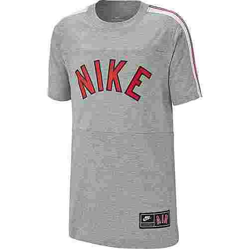 Nike NSW Air S+ T-Shirt Kinder dk-grey-heather-black